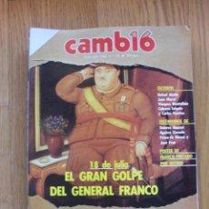 Coleccionismo de Revista Blanco y Negro: REVISTA CAMBIO 16, JULIO 1986, NUMERO 764. Lote 47140273