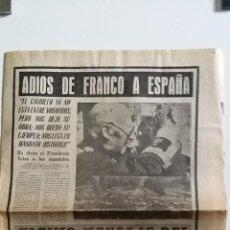 Coleccionismo de Revista Blanco y Negro: LA MUERTE DE FRANCO EN EL DIARIO DE SEVILLA . Lote 47157084