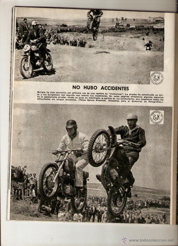Coleccionismo de Revista Blanco y Negro: AÑO 1960 BERMEO VIZCAYA CONCURSO PESCA ATUN ALVAREZ PICKMAN CAMPARI BEBIDAS BURGOS MOTOCROSS - Foto 5 - 48002081