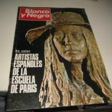 Colecionismo de Revistas Preto e Branco: REVISTA BLANCO Y NEGRO 1970 3014 ARTISTA ESPAÑOLES DE LA ESCUELA DE PARIS . Lote 48289610