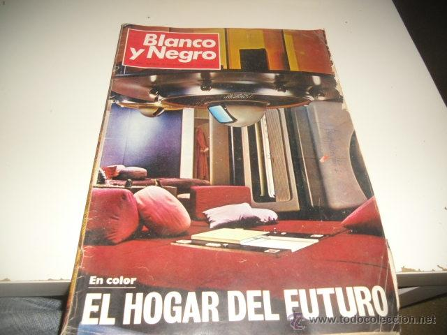 REVISTA BLANCO Y NEGRO 1969 3007 EL HOGAR DEL FUTURO (Coleccionismo - Revistas y Periódicos Modernos (a partir de 1.940) - Blanco y Negro)