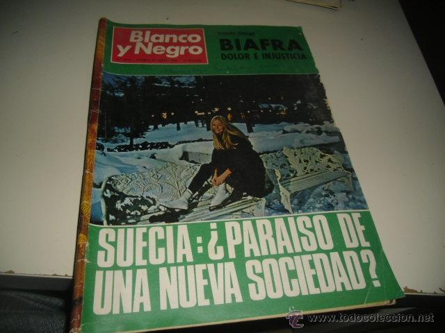 REVISTA BLANCO Y NEGRO 1970 3012 SUECIA PARAISO DE UNA NUEVA SOCIEDAD (Coleccionismo - Revistas y Periódicos Modernos (a partir de 1.940) - Blanco y Negro)