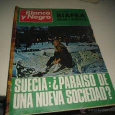 Coleccionismo de Revista Blanco y Negro: REVISTA BLANCO Y NEGRO 1970 3012 SUECIA PARAISO DE UNA NUEVA SOCIEDAD . Lote 48289710