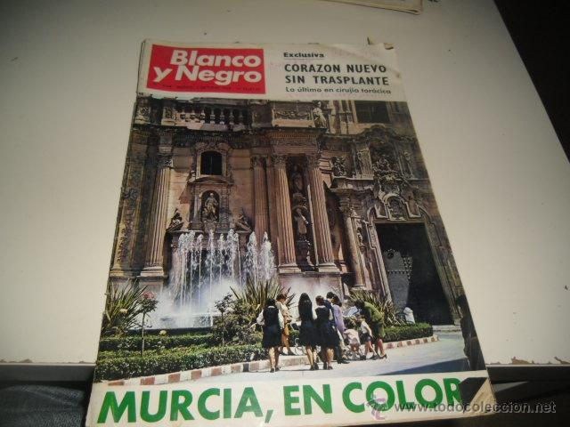 REVISTA BLANCO Y NEGRO 1968 2944 CORAZON NUEVO SIN TRASPLANTE (Coleccionismo - Revistas y Periódicos Modernos (a partir de 1.940) - Blanco y Negro)