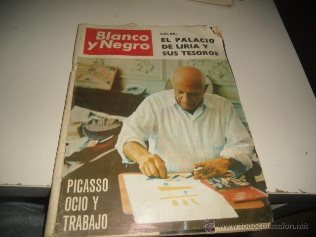 REVISTA BLANCO Y NEGRO 1966 2805 EL PALACIO DE LIRIA Y SUS TESOROS (Coleccionismo - Revistas y Periódicos Modernos (a partir de 1.940) - Blanco y Negro)