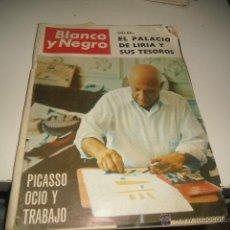 Coleccionismo de Revista Blanco y Negro: REVISTA BLANCO Y NEGRO 1966 2805 EL PALACIO DE LIRIA Y SUS TESOROS . Lote 48289756