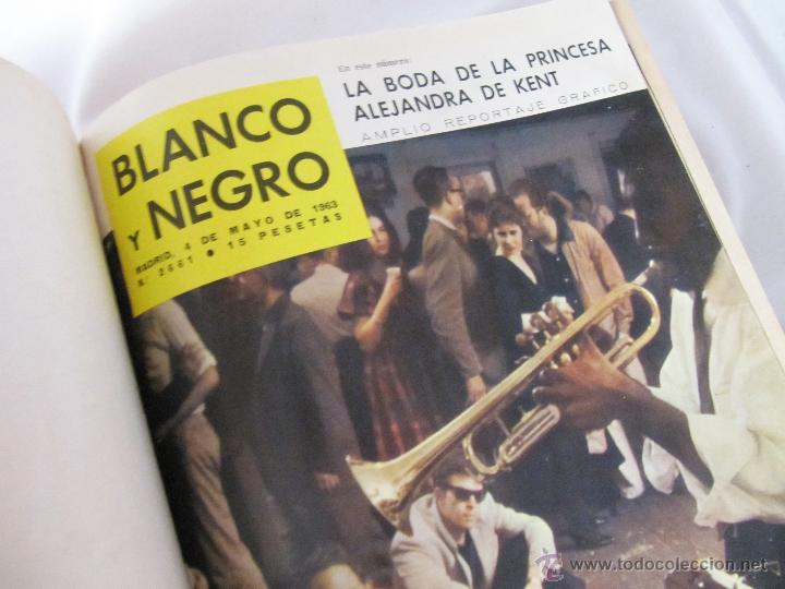 Coleccionismo de Revista Blanco y Negro: TOMO BLANCO Y NEGRO 1963 - VOL 3 - NºS DE 2661 A 2669 ENCUADERNADOS - Foto 2 - 48625392