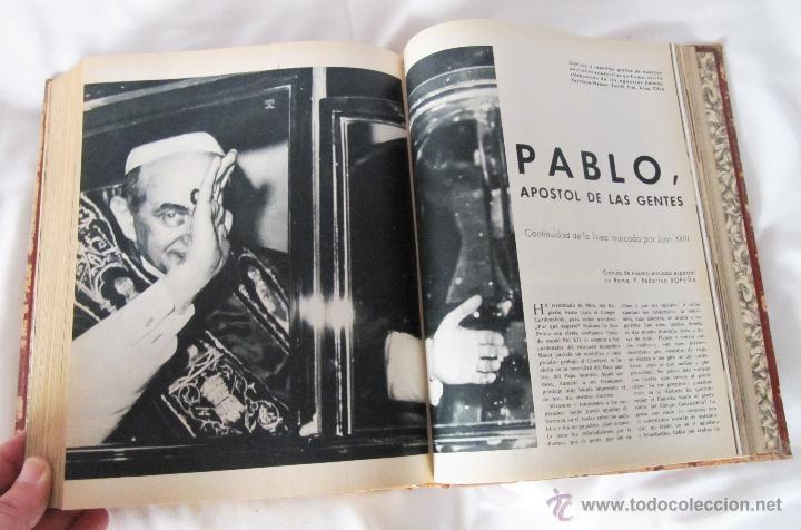 Coleccionismo de Revista Blanco y Negro: TOMO BLANCO Y NEGRO 1963 - VOL 3 - NºS DE 2661 A 2669 ENCUADERNADOS - Foto 5 - 48625392