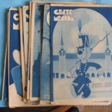 Coleccionismo de Revista Blanco y Negro: 18 REVISTAS DE SUPLEMENTO INFANTIL 1935, DE BLANCO Y NEGRO, ESTAN NUEVAS VER FOTOS. Lote 48855425