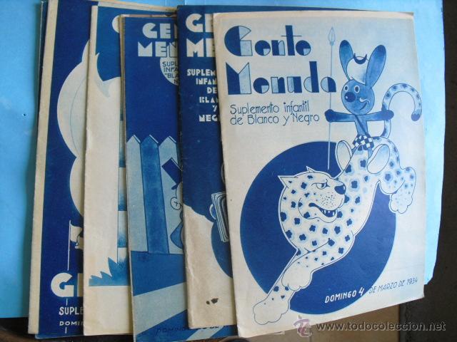 9 REVISTAS, DE SUPLEMENTO INFANTIL, DE BLANCO Y NEGRO 1934, BUEN ESTADO VER FOTOS (Coleccionismo - Revistas y Periódicos Modernos (a partir de 1.940) - Blanco y Negro)