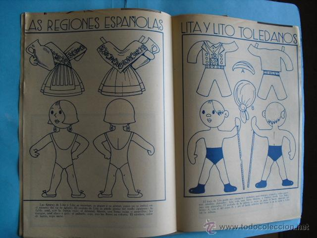 Coleccionismo de Revista Blanco y Negro: 9 revistas, de suplemento infantil, de blanco y negro 1934, buen estado ver fotos - Foto 8 - 48865119