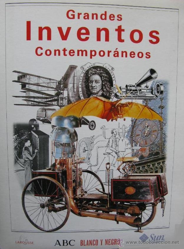 'GRANDES INVENTOS CONTEMPORÁNEOS'. CARPETA + LÁMINAS COLECCIONABLES, COMPLETO. BLANCO Y NEGRO. 1998. (Coleccionismo - Revistas y Periódicos Modernos (a partir de 1.940) - Blanco y Negro)