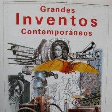 Coleccionismo de Revista Blanco y Negro: 'GRANDES INVENTOS CONTEMPORÁNEOS'. CARPETA + LÁMINAS COLECCIONABLES, COMPLETO. BLANCO Y NEGRO. 1998.. Lote 48892622