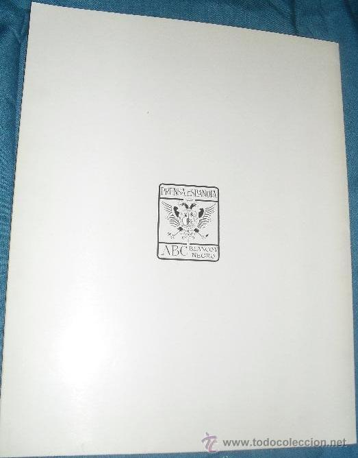 Coleccionismo de Revista Blanco y Negro: Contraportada - Backcover / - Foto 4 - 48892622