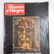 Coleccionismo de Revista Blanco y Negro: REVISTA BLANCO Y NEGRO Nº 3075 AÑO 1971. EL VERDADERO ROSTRO DE CRISTO. TDKR27. Lote 49231635