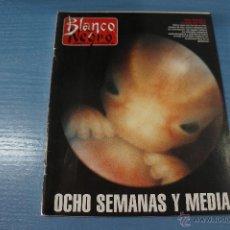 Coleccionismo de Revista Blanco y Negro: REVISTA:BLANCO Y NEGRO,Nº3881,VICTOR ULLATE,PINTO COELHO,PETE SAMPRAS,ARIADNA GIL. Lote 49386972