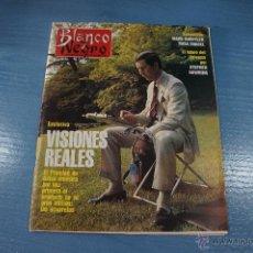 Coleccionismo de Revista Blanco y Negro: REVISTA:BLANCO Y NEGRO,Nº3773,ROSA CHACEL,JOSÉ ANTONIO LARA,ISABEL RUIZ DE LA PRADA. Lote 49392014