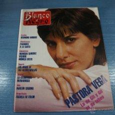 Coleccionismo de Revista Blanco y Negro: REVISTA:BLANCO Y NEGRO,Nº3755,PASTORA VEGA,ARANCHA SANCHEZ VICARIO,MONICA SELES,IRENE DUNE. Lote 49392786