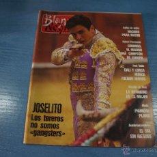 Coleccionismo de Revista Blanco y Negro: REVISTA:BLANCO Y NEGRO,Nº3752,JOSÉ BELLO,JOSELITO,AURORA REDONDO,ROBERT PROSINECKI. Lote 49392914