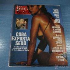 Coleccionismo de Revista Blanco y Negro: REVISTA:BLANCO Y NEGRO,Nº3748,PAOLA DOMINGUIN,NIEVES HERRERO,MARIA FELIX,ANTARTIDA. Lote 49393060