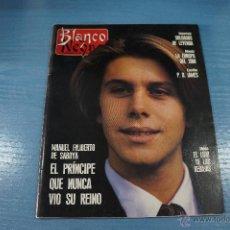 Coleccionismo de Revista Blanco y Negro: REVISTA:BLANCO Y NEGRO,Nº3733,NACHO DUATO,MANUEL FILIBERTO DE SABOYA,C. CARDINALE,WHITNEY HOUSTON. Lote 49393431
