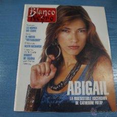 Coleccionismo de Revista Blanco y Negro: REVISTA:BLANCO Y NEGRO,Nº3828,CATHERINE FULOP,KEITH RICHARDS,MARIFE DE TRIANA,JOAQUIN KREMEL. Lote 49424900