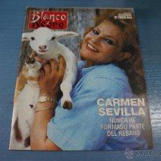 Coleccionismo de Revista Blanco y Negro: REVISTA:BLANCO Y NEGRO,Nº3817,CARMEN SEVILLA,MEL GIBSON,EUGENIA SILVA,PASCUAL GONZALEZ. Lote 49425372