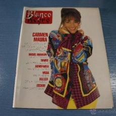 Coleccionismo de Revista Blanco y Negro: REVISTA:BLANCO Y NEGRO,Nº3807,CARMEN MAURA,MIGUEL INDURAIN,LOLO SAINZ,ORTEGA CANO. Lote 49425844