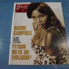 Coleccionismo de Revista Blanco y Negro: REVISTA:BLANCO Y NEGRO,Nº3792,NAOMI CAMPBELL,FRANCISCO UMBRAL,BARBRA STREISAND,MARISA PAREDES. Lote 49457746