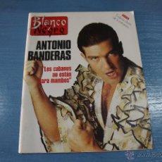 Coleccionismo de Revista Blanco y Negro: REVISTA:BLANCO Y NEGRO,Nº3791,ANTONIO BANDERAS,ANGEL GARÓ,FUTBOLISTAS,LORETTA YOUNG. Lote 49457847