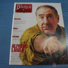 Coleccionismo de Revista Blanco y Negro: REVISTA:BLANCO Y NEGRO,Nº3786,ALFREDO LANDA,LOUIS JOURDAN,CARLOS MATA,ESTEFANIA LUYK. Lote 49458039