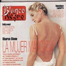 Coleccionismo de Revista Blanco y Negro: REVISTA BLANCO Y NEGRO Nº 3870 AÑO 1993. PORTADA: SHARON STONE.. Lote 288041328