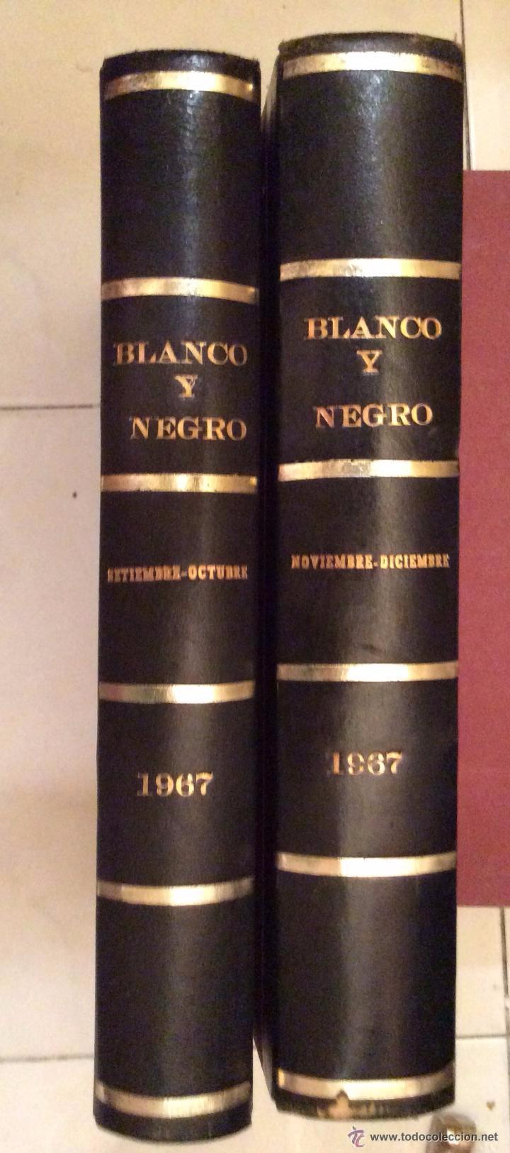 BLANCO Y NEGRO AÑO 67(SEPTIEMBRE-DICIEMBRE) ENCUADERNADAS (Coleccionismo - Revistas y Periódicos Modernos (a partir de 1.940) - Blanco y Negro)