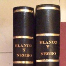 Coleccionismo de Revista Blanco y Negro: BLANCO Y NEGRO AÑO 67(SEPTIEMBRE-DICIEMBRE) ENCUADERNADAS. Lote 49677691