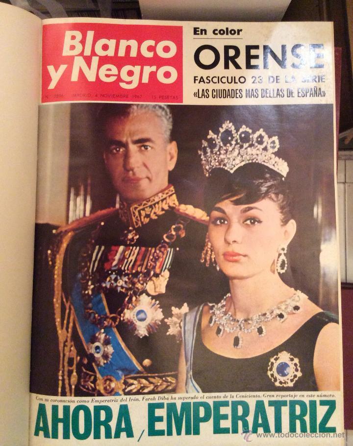 Coleccionismo de Revista Blanco y Negro: BLANCO Y NEGRO AÑO 67(SEPTIEMBRE-DICIEMBRE) encuadernadas - Foto 2 - 49677691