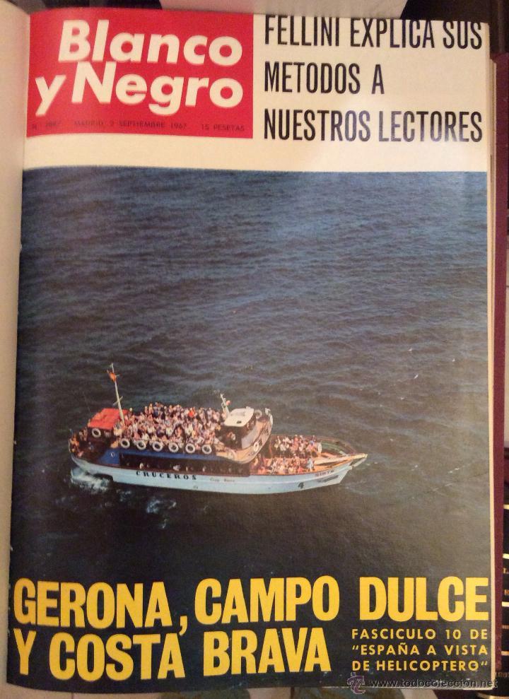 Coleccionismo de Revista Blanco y Negro: BLANCO Y NEGRO AÑO 67(SEPTIEMBRE-DICIEMBRE) encuadernadas - Foto 3 - 49677691