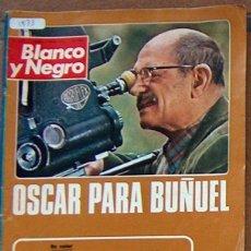 Coleccionismo de Revista Blanco y Negro: REVISTA BLANCO Y NEGRO 3179 1973, OSCAR BUÑUEL, FITTIPALDI, MARISOL, SALON AUTOMOVIL BARCELONA. Lote 50597818