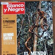 Coleccionismo de Revista Blanco y Negro: REVISTA BLANCO Y NEGRO 3036 1970, EL MUNDO PERDIDO, EL PENTAGONO, PICASSO. Lote 50597897