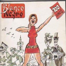 Coleccionismo de Revista Blanco y Negro: BLANCO Y NEGRO. ESPECIAL 100 AÑOS. 426 PÁGINAS.. Lote 50899557