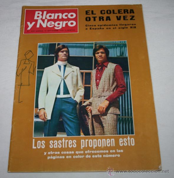 BLANCO Y NEGRO Nº 3045 12 SEPTIEMBRE 1970, MODA, MUNDO PERDIDO, COLERA, CAMPEONATO PESCA SUBMARINA (Coleccionismo - Revistas y Periódicos Modernos (a partir de 1.940) - Blanco y Negro)