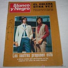 Coleccionismo de Revista Blanco y Negro: BLANCO Y NEGRO Nº 3045 12 SEPTIEMBRE 1970, MODA, MUNDO PERDIDO, COLERA, CAMPEONATO PESCA SUBMARINA. Lote 50961264