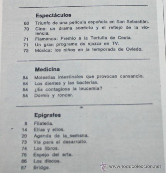 Coleccionismo de Revista Blanco y Negro: BLANCO Y NEGRO Nº 3205, 6 OCTUBRE 1973, CHILE, VIOLENCIA EN ARGENTINA, FRANCO 37 AÑOS, RUMANIA - Foto 4 - 50963849