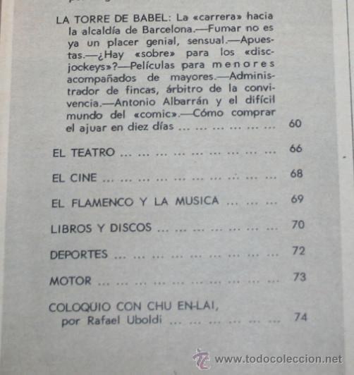 Coleccionismo de Revista Blanco y Negro: BLANCO Y NEGRO Nº 3173, 24 FEBRERO 1973, CHINA EN DIRECTO, BLUE-JEANS, BANCO PAPILLON, REVISTA - Foto 3 - 50963943