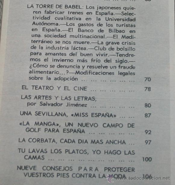 Coleccionismo de Revista Blanco y Negro: BLANCO Y NEGRO Nº 3158, 11 NOVIEMBRE 1972, R-5, CARLOS DE WINDSOR, PACO CAMINO, PIEDRAS QUE MUEREN - Foto 3 - 50964109
