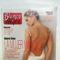 Coleccionismo de Revista Blanco y Negro: BLANCO Y NEGRO Nº3870 SHARON STONE, HOMBRES G, MARÍA ABRADELO, ROCÍO JURADO, ARANCHA DE BENITO. Lote 51207895