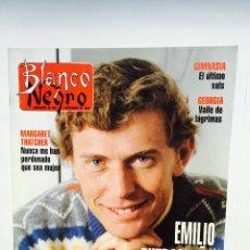 Coleccionismo de Revista Blanco y Negro: BLANCO Y NEGRO Nº3880 EMILIO BUTRAGEÑO, MARGARET THATCHER, ELSA ANKA, FERNANDO GUILLÉN CUERVO, RUBÍ. Lote 51208935