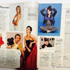 Coleccionismo de Revista Blanco y Negro: ALICIA KOPLOWITZ, JACQUELINE BISSET, RAPHAEL, MAYRA GOMEZ KEMP, BRIDGET FONDA. Lote 51208995