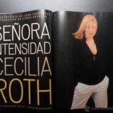 Colecionismo de Revistas Preto e Branco: CECILIA ROTH, ROCÍO DURCAL, GENE HACKMAN, JORDI BOIXADERA. Lote 51404119