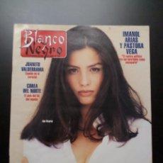 Coleccionismo de Revista Blanco y Negro: BLANCO Y NEGRO Nº3913 ANA ÁLVAREZ, IMANOL ARIAS, PASTORA VEGA, JUANITO VALDERRAMA, ALEJANDRO SANZ. Lote 51406593