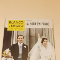 Coleccionismo de Revista Blanco y Negro: REVISTA BLANCO Y NEGRO Nº 2506- MAYO 1960 - LA BODA EN FOTOS. Lote 52147795